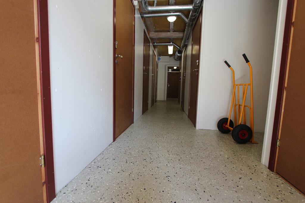Hyrmagasinet korridor